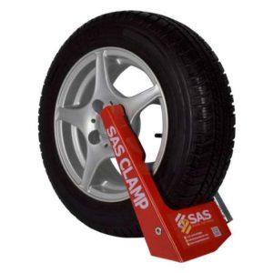 Wheel Clamp Swift Caravan Supaclamp Gold 1130171