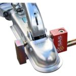 Alko Hitch Lock Sold Secure Simple Hitch Hitched to Vehicle Compact Condor Hitch Lock 2511195