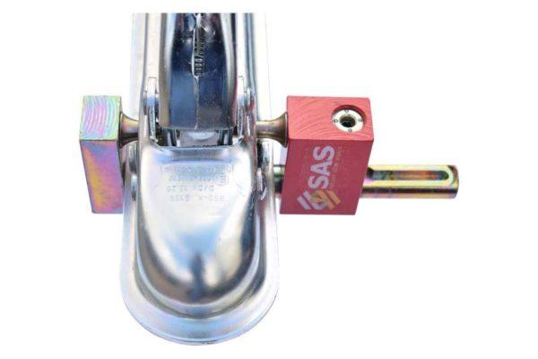 Caravan Hitch Lock Small Compact Condor Hitch Lock 2511195