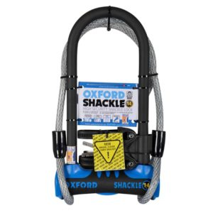 Oxford Shackle Bike Lock and Cable Motorhome 8461425 LK342