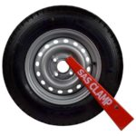 Wheelclamp 14 inch Tyres HD2 Wheel Clamp 1221701