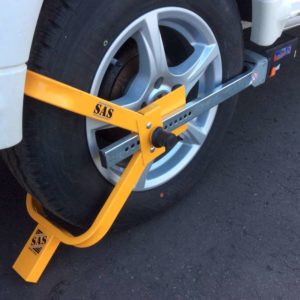Wheel Clamp Cheap Insurance Approved UNI Wheel Clamp 1610793