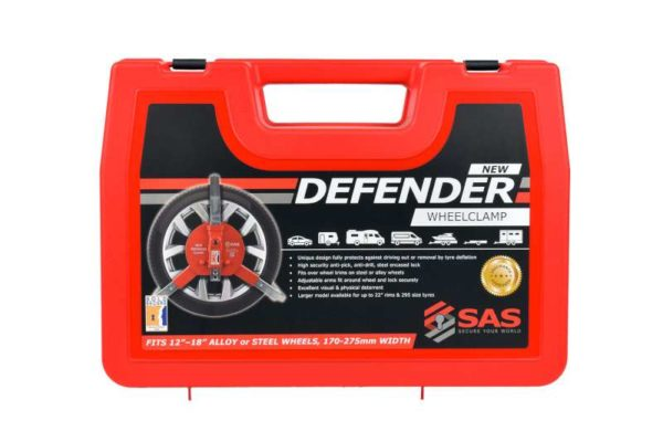 Wheel Clamp Sold Secure New Defender Wheel clamp 1410173