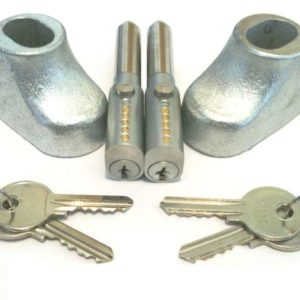 Roller Shutter Door Locks Set of 2 6610016