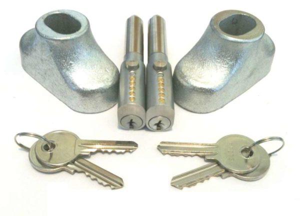 Roller Shutter Door Locks Set of 2 6610016