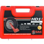 SAS HD1 Wheel Clamp Red Plastic Case 9900011