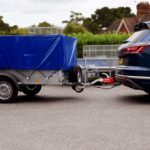 Hitch Lock locking Ifor Williams P6e Trailer on to car SAS HL2 2320751