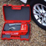 Wheel Clamp for Caravans in handy carry case SAS SupaClamp Gold 1130171