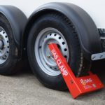 Wheel Clamp Locking Ifor Williams Trailer SAS HD1 1211101