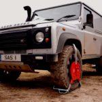 Wheel Clamp Locking Land Rover Defender SAS New Defender Large 1450773