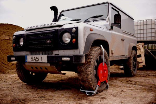 Wheel Clamp Locking Land Rover Defender SAS NDEFL 1450773