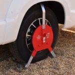 Wheel Clamp Locking Motorhome SAS New Defender Large 1450773