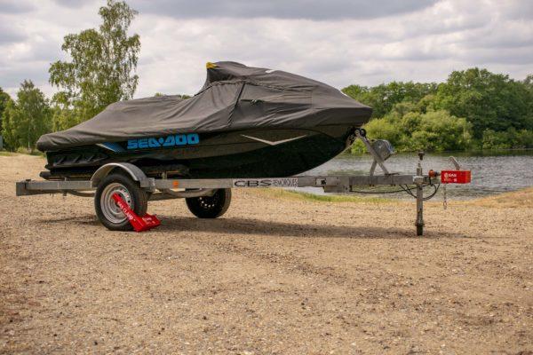Wheel Clamp securing Jet-ski trailer SAS HD1 1211101