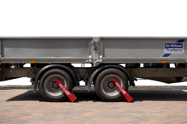 Wheel Clamp locking flat bed Ifor Williams trailer SAS HD1 1211101