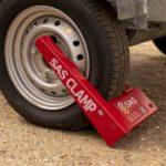 HD1 Wheel Clamp on narrow tyre 1211101