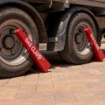 HD4 Wheel Clamp on inset rim steel wheel 1241701