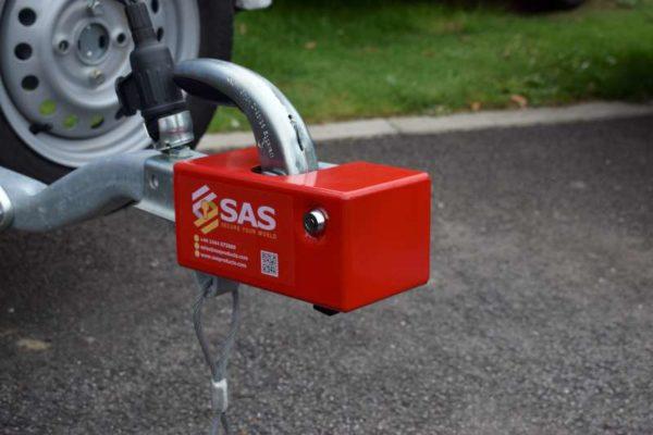 Knott Pressed Hitch Lock Box Security