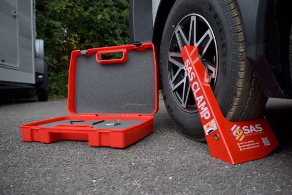 SAS Silver Clamp Sold Secure on Alloy