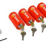 Set of 4 Leg Locks for Caravan 3140141 4 Pack Leg Lock 1