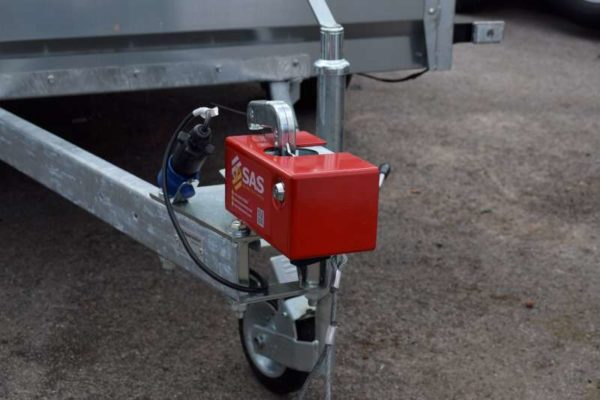 Unbraked Indespension Trailer Hitch Lock