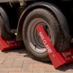 Wheel Clamps for contractors trailer 1241701